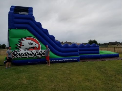 screamin eagle water slide