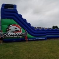 screamin eagle water slide rental