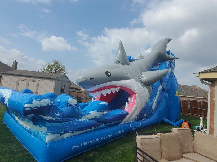Jaws water slide