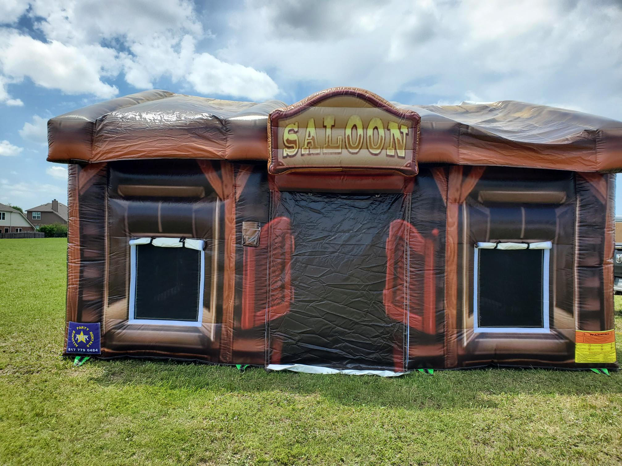 Saloon inflatable house